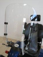 Scootmobiel windscherm